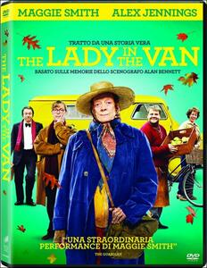 The Lady in the Van di Nicholas Hytner - DVD