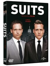 Film Suits. Stagione 4 (4 DVD)