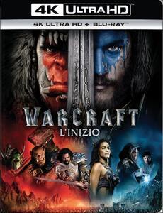 Warcraft. L'inizio (Blu-ray + Blu-ray 4K Ultra HD) di Duncan Jones