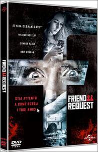 Friend Request. La morte ha il tuo profilo di Simon Verhoeven - DVD