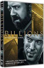 Film Billions. Stagione 1 (4 DVD)