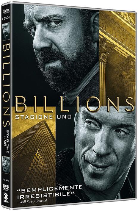 Billions. Stagione 1 (4 DVD) di Anna Boden,Ryan Fleck,Neil Burger - DVD