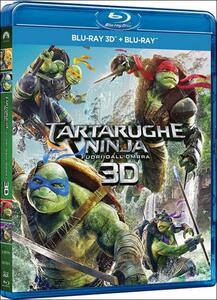 Tartarughe Ninja. Fuori dall'ombra 3D (Blu-ray + Blu-ray 3D) di Dave Green