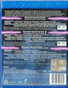 Ghostbusters Collection (3 Blu-ray) di Paul Feig,Ivan Reitman - 2