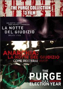 The Purge Collection. 3 film (3 DVD) di James DeMonaco