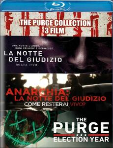 The Purge Collection. 3 film (3 Blu-ray) di James DeMonaco
