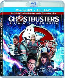 Ghostbusters 3D (Blu-ray + Blu-ray 3D) di Paul Feig