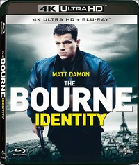 Cover Dvd The Bourne Identity