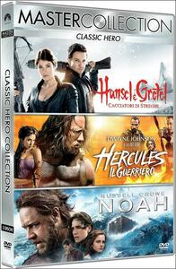 Classic Hero. Master Collection (3 DVD) di Darren Aronofsky,Brett Ratner,Tommy Wirkola