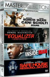Denzel Washington. Master Collection (4 DVD) di Daniel Espinosa,Antoine Fuqua,Baltasar Kormakur,Spike Lee