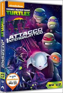 Teenage Mutant Ninja Turtles. Stagione 4. Vol. 2. Attacco intergalattico - DVD