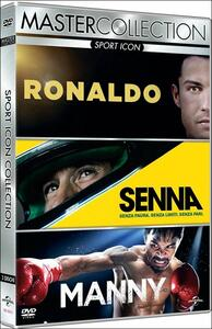 Sport Icon. Master Collection (3 DVD) di Leon Gast,Asif Kapadia,Ryan Moore,Anthony Wonke