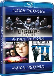 Final Fantasy. 3 Movie Collection (3 Blu-ray) di Tetsuya Nomura,Takeshi Nozue,Hironobu Sakaguchi