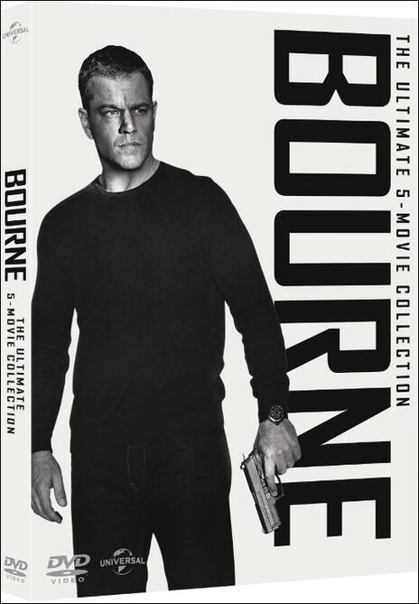 Jason Bourne. 5 Movie Collection (5 DVD) di Tony Gilroy,Paul Greengrass,Doug Liman