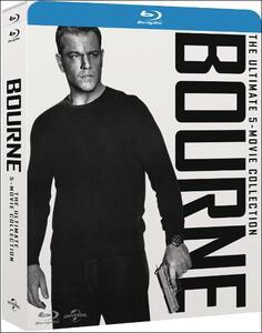 Jason Bourne. 5 Movie Collection (5 Blu-ray) di Tony Gilroy,Paul Greengrass,Doug Liman
