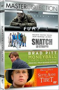 Superstar. Master Collection (4 DVD) di Jean-Jacques Annaud,David Ayer,Bennett Miller,Guy Ritchie