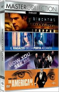 Thriller. Master Collection (4 DVD) di Rob Cohen,Anton Corbijn,Louis Leterrier,Michael Mann