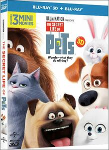 Pets. Vita da animali 3D (Blu-ray + Blu-ray 3D) di Yarrow Cheney,Chris Renaud