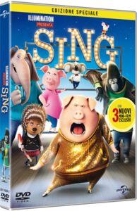 Film Sing (DVD) Christophe Lourdelet , Garth Jennings