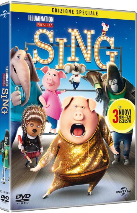 Sing (DVD) di Christophe Lourdelet,Garth Jennings  - DVD