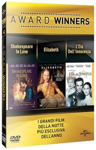 Shakespeare in Love. Elizabeth. L'età dell'innocenza. Oscar Collection (3 DVD) di Shekar Kapur,John Madden,Martin Scorsese