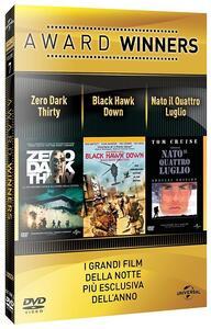 Zero Dark Thirty. Black Hawk Dawn. Nato il 4 luglio. Oscar Collection (3 DVD) di Kathryn Bigelow,Ridley Scott,Oliver Stone