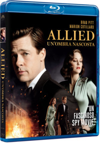 Cover Dvd Allied. Un'ombra nascosta (Blu-ray) (Blu-ray)