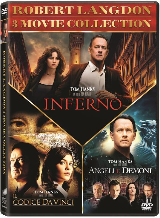 Robert Langdon Trilogy (3 DVD) di Ron Howard