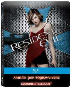 Resident Evil. Limited Edition Steelbook (Blu-ray) di Paul W.S. Anderson - Blu-ray