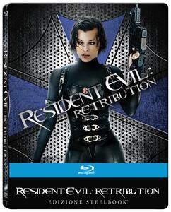 Resident Evil. Retribution. Limited Edition Steelbook (Blu-ray) di Paul W.S. Anderson - Blu-ray