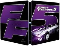 Cover Dvd Fast & Furious 5. Con Steelbook (Blu-ray) (Blu-ray)
