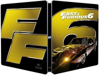 Cover Dvd Fast and Furious 6. Con Steelbook (Blu-ray) (Blu-ray)