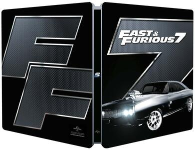 Fast and Furious 7. Con Steelbook (Blu-ray) di James Wan - Blu-ray