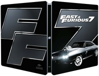 Cover Dvd Fast and Furious 7. Con Steelbook (Blu-ray) (Blu-ray)