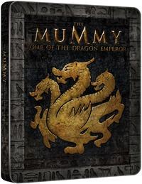 Cover Dvd Mummia. La tomba dell'Imperatore Dragone. Con Steelbook (Blu-ray) (Blu-ray)