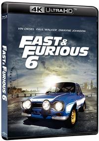 Cover Dvd Fast & Furious 6 (Blu-ray Ultra HD 4K) (Blu-ray)