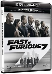 Fast & Furious 7 (Blu-ray + Blu-ray 4K Ultra HD) di James Wan