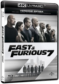 Cover Dvd Fast & Furious 7 (Blu-ray Ultra HD 4K) (Blu-ray)