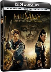 Cover Dvd Mummia. La tomba dell'Imperatore Dragone (Blu-ray Ultra HD 4K) (Blu-ray)