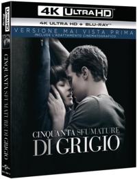Cover Dvd Cinquanta sfumature di grigio (Blu-ray Ultra HD 4K)