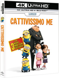 Cover Dvd Cattivissimo me (Blu-ray Ultra HD 4K)