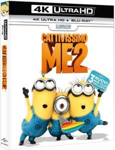 Cattivissimo me 2 (Blu-ray + Blu-ray 4K Ultra HD) di Pierre Coffin,Chris Renaud