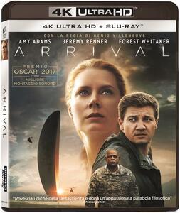 Film Arrival (Blu-ray + Blu-ray 4K Ultra HD) Denis Villeneuve