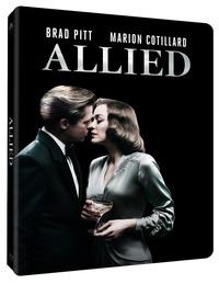 Cover Dvd Allied. Un'ombra nascosta. Con Steelbook