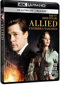 Cover Dvd Allied. Un'ombra nascosta (Ultra HD 4K) (DVD)