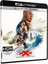 Cover Dvd xXx. Il ritorno di Xander Cage (Blu-ray Ultra HD 4K) (Blu-ray)
