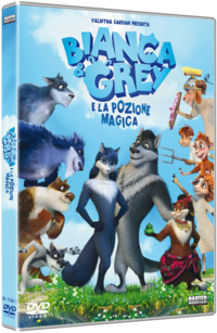 Cover Dvd Bianca & Gray e la pozione magica (DVD) (DVD)