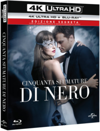 Cover Dvd Cinquanta sfumature di nero (Blu-ray Ultra HD 4K) (Blu-ray)