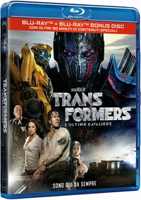 Cover Dvd Transformers. L'ultimo cavaliere (Blu-ray)