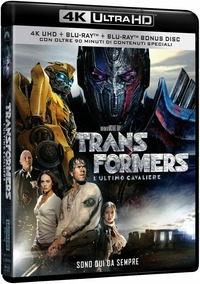 Cover Dvd Transformers. L'ultimo cavaliere (Blu-ray Ultra HD 4K)